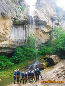 180609 Artazulo Artazul barranquismo navarra nafarroa descenso barrancos menditxik guias montaña barrancos mendi arroila gidariak 21
