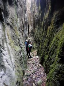 Barranco Lizebar barranquismo navarra nafarroa pamplona irunea iruna menditxik guias montana deportes aventura arteta ulzurrun 3