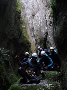 Barranco Lizebar barranquismo navarra nafarroa pamplona irunea iruna menditxik guias montana deportes aventura arteta ulzurrun 4
