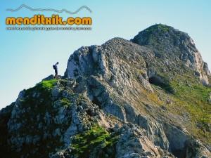 Udalaitz Udalatx menditxik minas mehatzeak mendi arroila gidariak guías montana barrancos 6