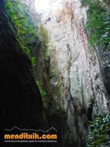 Barranco Licebar Lizebar Arroila