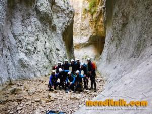 mascun guara descenso cañones barrancos arroila jaitsiera menditxik guías de montana barrancos mendi arroila gidariak 37
