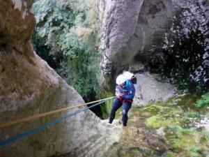 Barranco Lizebar barranquismo navarra nafarroa pamplona irunea iruna menditxik guias montana deportes aventura arteta ulzurrun 1