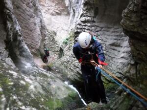Barranco Lizebar barranquismo navarra nafarroa pamplona irunea iruna menditxik guias montana deportes aventura arteta ulzurrun 2