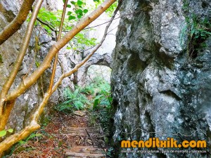 Udalaitz Udalatx menditxik minas mehatzeak mendi arroila gidariak guías montana barrancos 2
