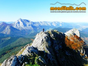 Udalaitz Udalatx menditxik minas mehatzeak mendi arroila gidariak guías montana barrancos 5